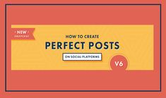 #SocialMedia Tips: How To Create Perfect Posts on Facebook YouTube Instagram Twitter Snapchat and Pinterest http://www.digitalinformationworld.com/2016/09/socialmedia-tips-how-to-create-perfect.html