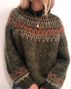 Icelandic Sweaters, Cozy Sweaters, Sweaters For Women, Hand Knitted Sweaters, Winter Sweaters, Vintage Sweaters, Ravelry, Pretty Outfits, Cute Outfits