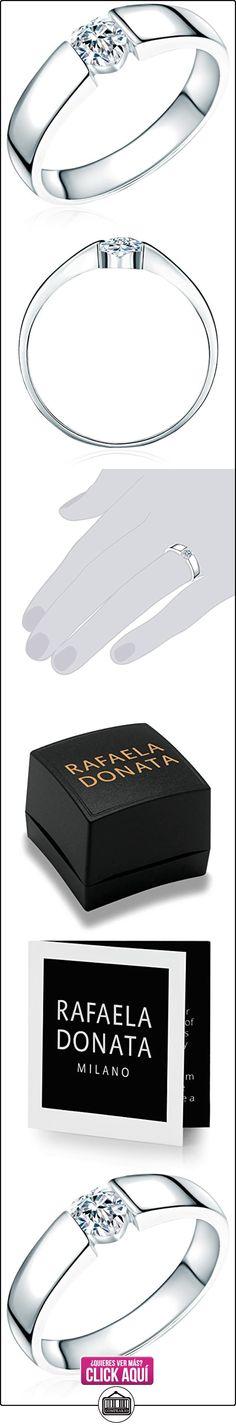 Rafaela Donata - Anillo, matizado - 925 Plata esterlina, Anillo con Zirconia - complementos de mujer - En diferentes tamaños, Anillo de Plata esterlina, Joyería de plata - 60800061  ✿ Joyas para mujer - Las mejores ofertas ✿ ▬► Ver oferta: https://comprar.io/goto/B002S535CA