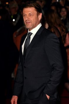 Lord Of The Rings • Sean Bean attends the premiere of his new film...