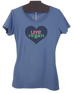 """Vegan Heart"" Women's Form Fitting Organic Cotton Shirt L... https://www.amazon.com/dp/B01M13YKWV/ref=cm_sw_r_pi_dp_x_1ucaybB71QHEE"