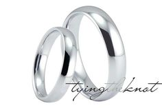Womens/Mens Tungsten Carbide Polished by TyingTheKnotbyClaude