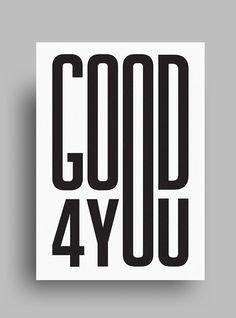Striking, Minimalist, Black & White Posters Featuring Gorgeous Typography | Get Website Design