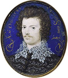 Robert Devereux, the Earl of Essex. He was Elizabeth's favourite toward the end of her life. His mother was Lettice Knollys, Elizabeth's cousin. His step-father was Robert Dudley, Earl of Leicester. After Leicester died, his step-son tried to step into his place at court. But Essex was dangerously unstable, and eventually tried to lead a rebellion against Elizabeth. It failed miserably, and Elizabeth had him executed.