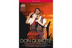Don Quixote DVD (The Royal Ballet) 2013    [DVD added 01-05-2014] Carlos Acosta's first venture directing one of ballet's 19th-century classics was eagerly anticipated, as was his own starring role in the production (as Basilio), opposite the Argentinian Royal Ballet Principal Marianela Nuñez (Kitri).