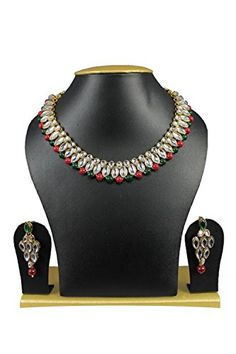 VVS Jewellers Traditional Gold Plated Red Green Pearls Ku... https://www.amazon.com/dp/B01J7D743G/ref=cm_sw_r_pi_dp_U_x_yd4fBbWQ9MQRX