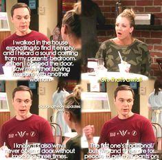 The Big Bang Theory - I LOVED this moment!!