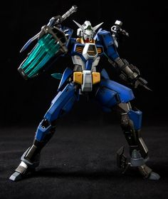 1/144 AGE-1S Gundam AGE-1 Spallow Custom: Work by Zams. Photoreview Hi Res Images, Info
