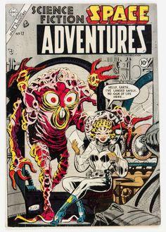 Steve Ditko | Space Adventures #12 | Silver Age | Charlton | 1954