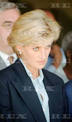 Princess Diana in Angola 1997