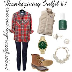 """Thanksgiving Outfit #1"" by prepperfection15 on Polyvore"