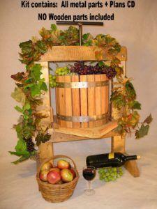 Apple Cider Wine Press Hardware Kit – $79! + free shipping #homebrew