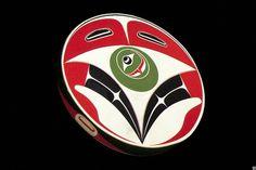 by Robert Davidon, Haida Art, Drum