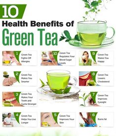 10 Health Benefits of Green Tea. Green tea is full of polyphenols such as flavonoids and catechins. These are the main compounds responsible for the benefits of green tea; they defend your body and act as powerful antioxidants. Health Facts, Health And Nutrition, Health And Wellness, Health And Beauty, Health Guru, Fitness Nutrition, Fitness Tips, Healthy Drinks, Healthy Tips