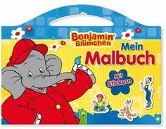 Benjamin Blümchen Malbuch