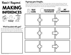 These reading graphic organizers are perfect for upper elementary students and will work great with any fiction text. Guided Reading Lessons, Reading Strategies, Teaching Reading, Learning, English Reading, English Writing, Writing Skills, Essay Writing, Study Guide Template