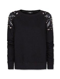 10 Punk Items That Will Rock Your Closet: Mango's Embellished Sweatshirt
