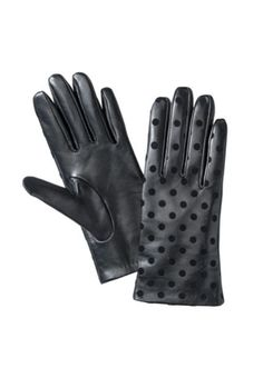 Leather gloves $22
