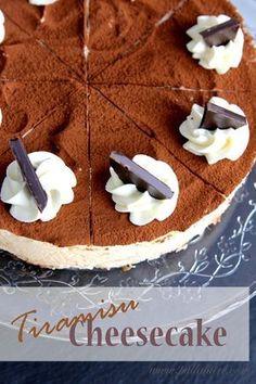 Pullahiiren leivontanurkka: Tiramisujuustokakku / Tiramisu cheesecake
