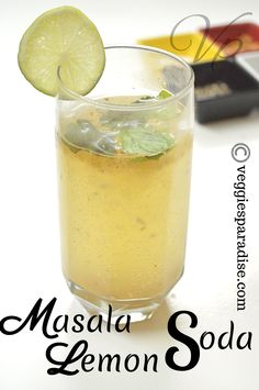 Masala Lemon Soda - A lemon Juice with a slight twist along with the touch of spices , will give you the perfect drink with an exotic flavour and taste. Drinks Alcohol Recipes, Drink Recipes, Lemon Soda Recipe, Food Dishes, Food Food, Health And Nutrition, Health Tips, Kheer Recipe, Detox Juice Recipes