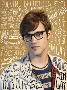 Archie. My Mad Fat Diary