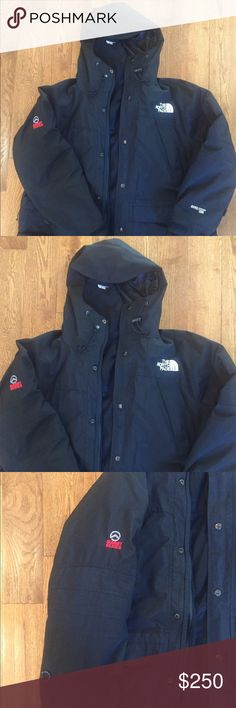 North Face Men's Sz Large Summit Gortex Ski Jacket Worn only a few times is this North Face Summit Ski Jacket.  The inner fleece layer zips out so it's 2 jackets within one:) Men's Sz Large. Retail over $400 mint condition. North Face Jackets & Coats Ski & Snowboard