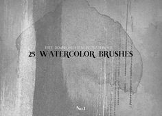 Inspiration Hut Marketplace » Watercolor Brush Pack No.1 – Free Download