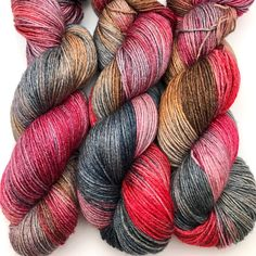 """""""Bluebeard"""" colourway on Blueboo - a stunning BFL/Bamboo fingering base - is in the Crooked Kitchen this morning"""