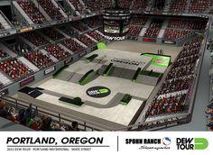 Dew Tour 2011 - Portland, Oregon Street Skate by spohnranchskateparks, via Flickr
