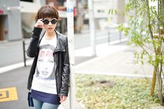 buggy×S.K.R Tshirt「ANGIE 」/バニラホワイト  Tshirt #TEE #altopino #SKR #buggy #angie