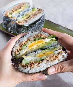 """Instagram Trend """"Sushi Burger"""": Wir sind verrückt nach diesen kleinen…"""