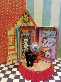 Fortune teller for Tiny Tin Circus...Zetta's Aprons