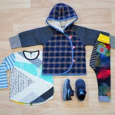 Pythagoras LS Splice T Shirt, Dancefloor Antics Legging, Paperbark Jacket, Nike Flex Contact TD Toddler Black/Neo Turq/Dark Grey, Oishi-m Clothing for Kids, Winter 18, www.oishi-m.com
