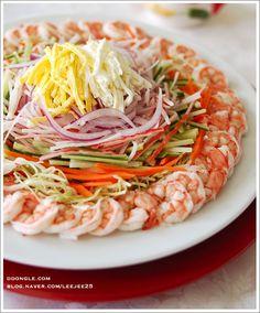 전용뷰어 : 네이버 블로그 Korean Side Dishes, Asian Recipes, Healthy Recipes, K Food, Cafe Food, Just Cooking, Korean Food, Food Plating, No Cook Meals