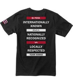 BJ Penn Quote T-Shirt | RVCA