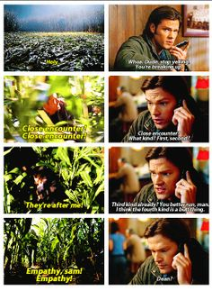 This moment will never not make me laugh. I love soulless!Sam.