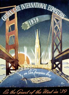 SF World's Fair, 1939 Poster by TunnelBug, via Flickr