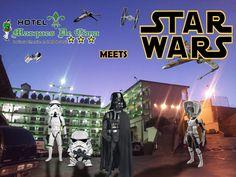 Star Wars Meets Hotel Marques De Cima 2015