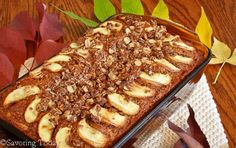 Apple Walnut Bread [Sprouted Wheat] | Savoring Today LLC