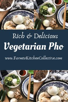 This Mushroom based Pho is so rich and delicious you won't even realize this is a vegetarian recipe! Mushroom are loaded with nutrition and the perfect substitute for meat. Our Mushroom Pho is vegan and keto compliant. Perfect for anyone looking for seasonal support with a nutritional boost. Did I mention is is the very BEST Pho recipe??? Get a copy of your FREE cookbook with this and several other recipes, herbal knowledge and mushroom power at www.FarmtoKitcchenCollective.com Vegetarian Pho, Vegetarian Recipes, Best Pho Recipe, Mushroom Benefits, Herbal Magic, Meatless Monday, Other Recipes, Herbalism, Stuffed Mushrooms