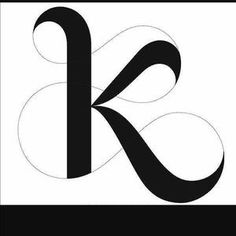 the best letter k tattoo ideas k tattoo Letter K Font, Letter K Tattoo, Letter K Design, Letter Art, Typography Fonts, Typography Design, Logo Design, Fancy Letters, Monogram Letters