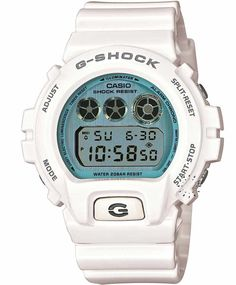 CASIO G-SHOCK Digital White Rubber Strap Η τιμή μας: 118€ http://www.oroloi.gr/product_info.php?products_id=33312