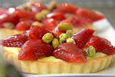 Strawberry Tarts made by Barefoot Contessa.. just watched her making these and they look amazing!