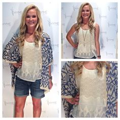 Such a cute cardy @THYME boutique