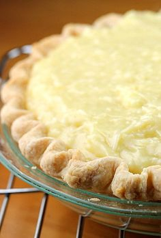 The Best Coconut Cream Pie - Bunny's Warm Oven