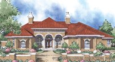 Bellini Home Plan | Sater Design Collection | Luxury House Plans