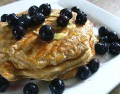 Delicious & Healthy Protein Pancakes!  Recipe at www.facebook.com/befitbesexy
