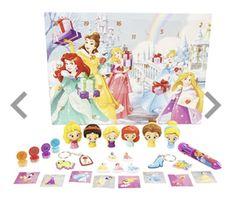 Christmas Disney advent calendar Little Cherubs, One Color, Colour, Advent Calendar, Kids Fashion, Disney Princess, Christmas, Fun, Puzzle
