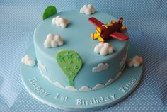 Flugzeug Torte, für Titus 1 Geburtstag