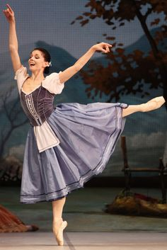 """Natalia Osipova was the shining lead in the Mikhailovsky Ballet's United States debut, """"Giselle, ou les Willis,"""" at Lincoln Center."""